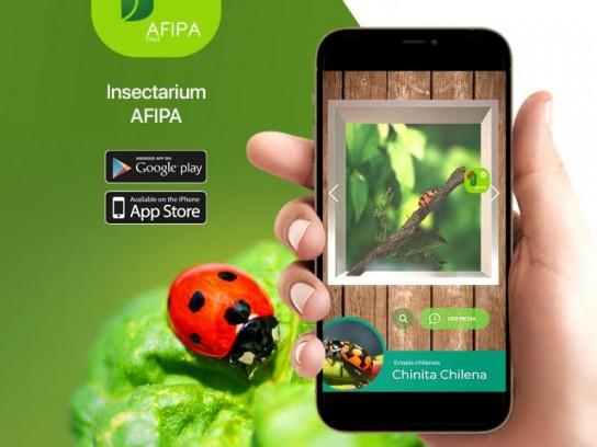 Insectarium: nueva App que permite reconocer insectos y visualizarlos en detalle