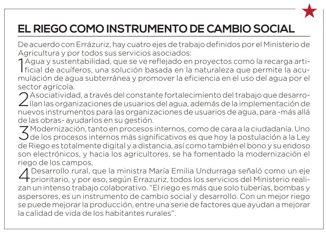 Federico Errázuriz sobre la renovación de la Ley Nº18.450 y sus principales cambios