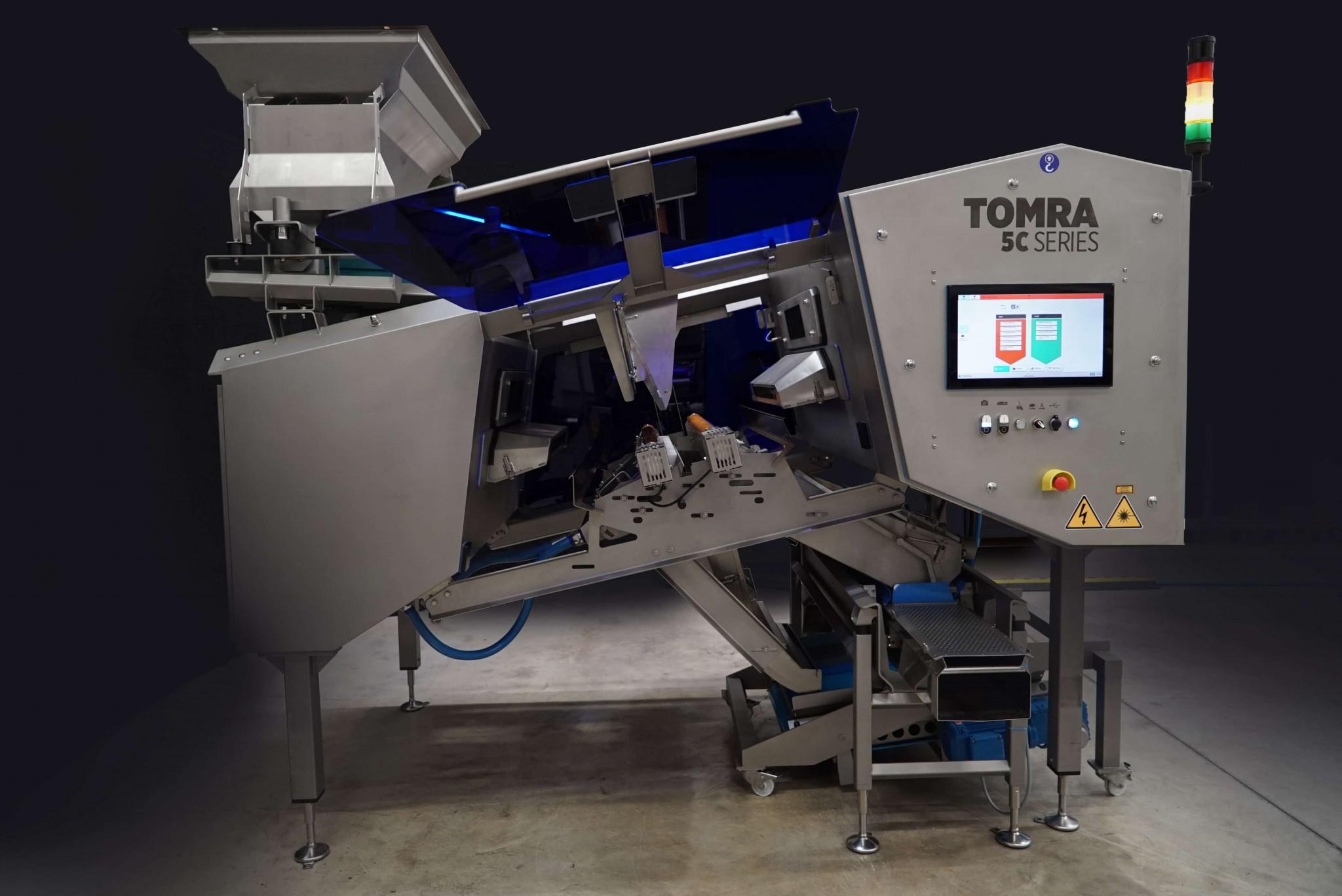 TOMRA Food lanza nuevo sistema de clasificación óptica de alimentos