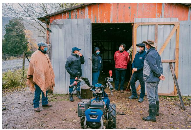 La asociatividad e innovación se unen para el desarrollo rural en Alto Biobío