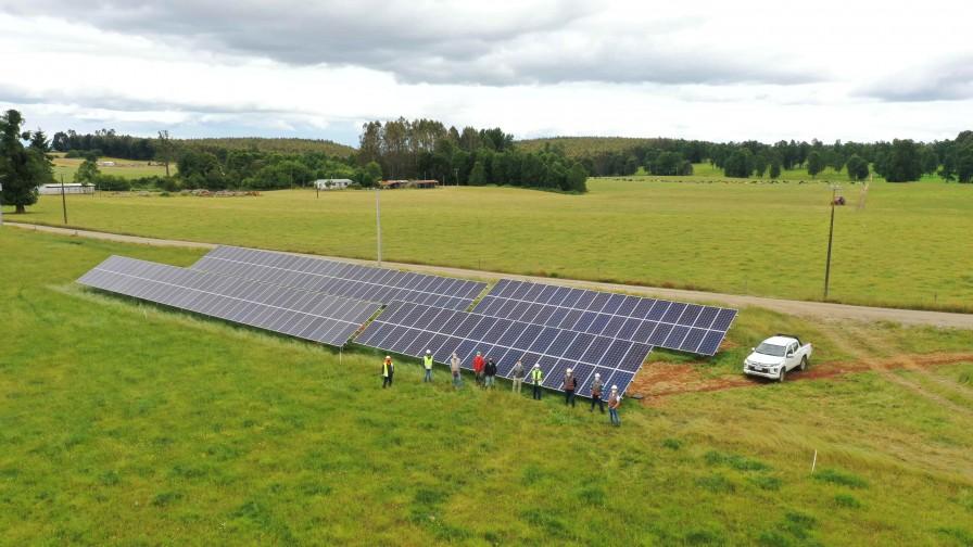 Jorge Momberg, productor lechero, confió en la energía fotovoltaica para mejorar sus procesos