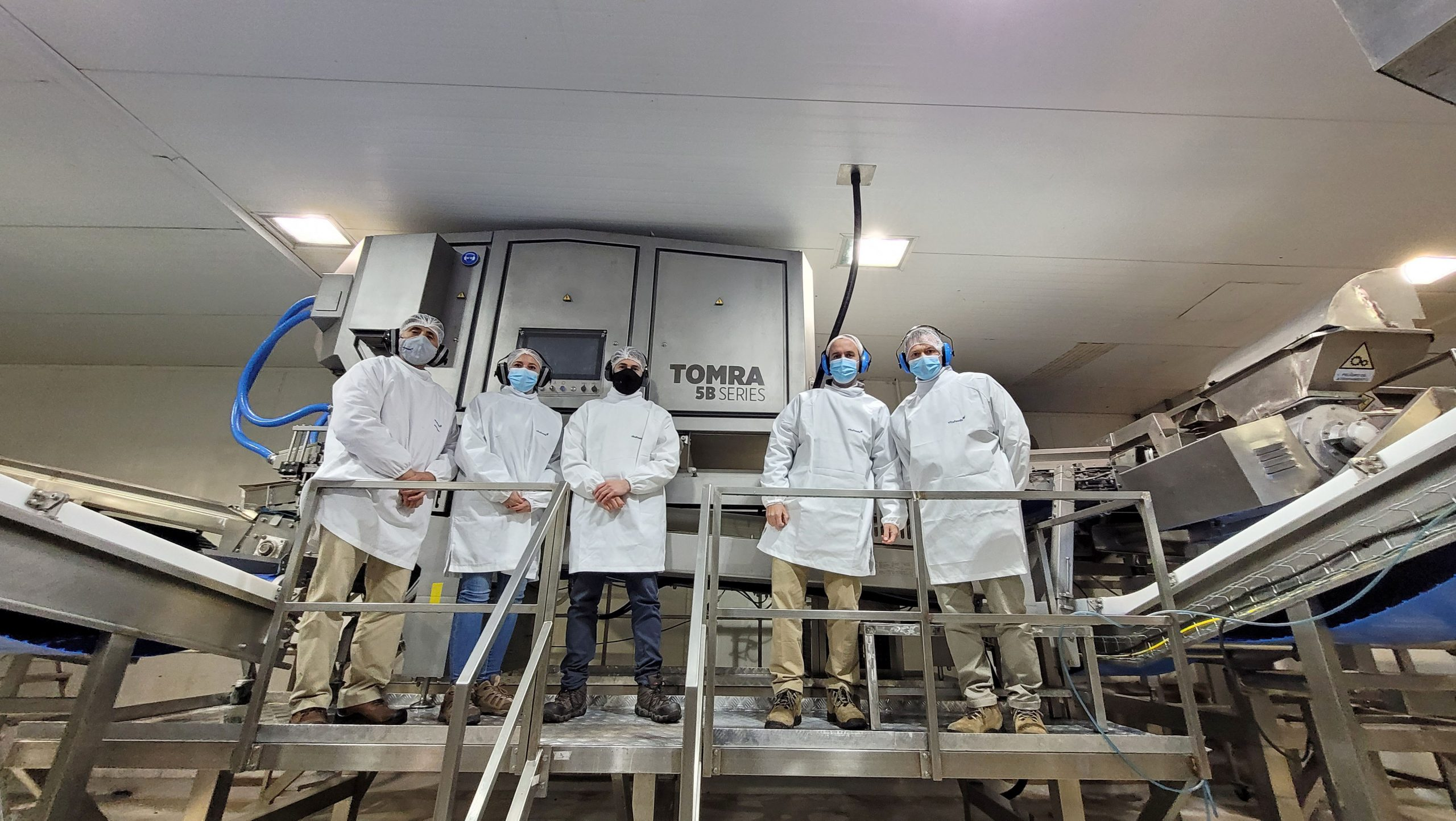VITAFOODS incorpora la TOMRA 5B a su planta de procesado de berries en Chillán