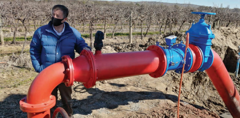 Uso eficiente del agua en la agroindustria: el desafío que mueve a Entel Ocean e Hydroscada