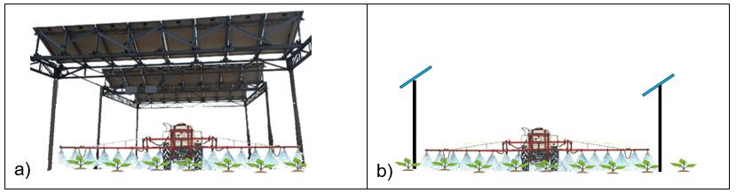 Efecto de la sombra de un sistema agrivoltaico sobre cultivo de tomates