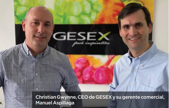 Gesex y Pura Fruit se alían para abrirse camino entre las principales exportadoras de uva de mesa en Perú