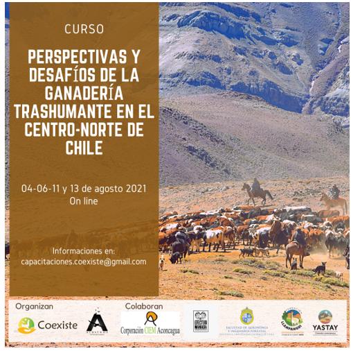 Se realizará curso sobre ganadería trashumante en el centro-norte de Chile