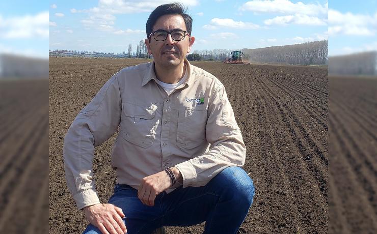 Alberto Cañete asume como Gerente de Agronomía de Orafti Chile