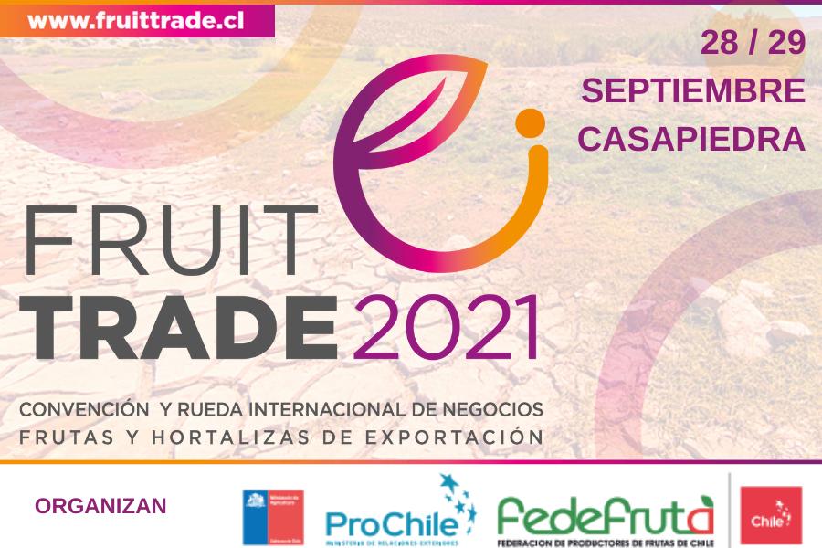 Participarán en #Fruittrade 2021 Ministros del Trabajo y Agricultura y presidente de la SNA