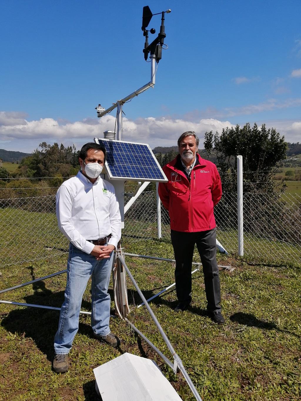 Inauguran primera estación meteorológica en comuna de Arauco